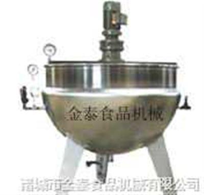 全钢立式搅拌夹层锅(莲蓉厂)用