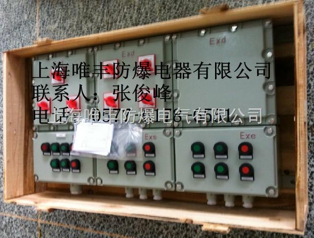 防爆动力配电箱/木箱包装
