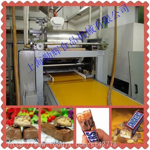 QH-600复合糖排设备士力架生产线,糖排生产线,复合糖排自动成型设备