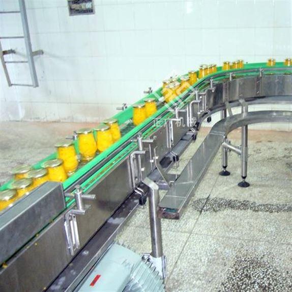 罐头链板式输送机