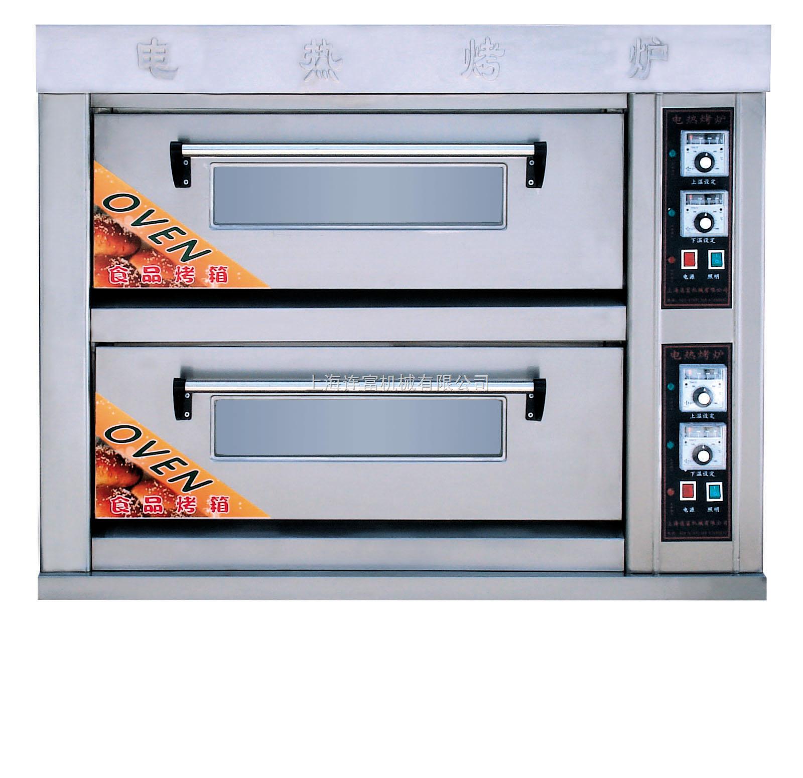 ykl-24-二层四盘燃气烤箱丨燃气烤箱丨烤面包机丨