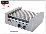 唯利安 HD-07 七棍滚筒式烤香肠机 烤热狗机 烤火腿肠机