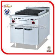 杰冠+立式電熱火山石燒烤爐連柜座/火山石烤烤爐/燃氣烤爐