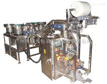 自動螺絲釘包裝機6盆螺絲數數包裝機