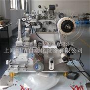 LB-40A-PE塑料袋半自动贴标签机 半自动平面贴标机