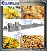 全自動油炸麵食生產線油炸小食品生產線
