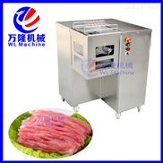 QJB-80-多功能切肉机 切肉丝机 大型电动肉类切片切丝机商用切肉片机