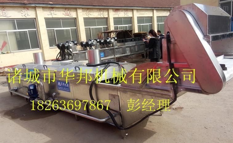 燃气式油菜漂烫机