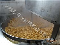 中小型全自动不锈钢豆腐块油炸锅