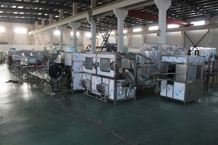 桶装水灌装生产线价格