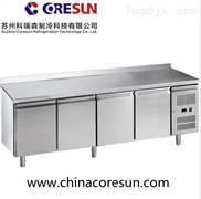 分体式风冷不锈钢保鲜冷冻四门冷藏平台柜 挡板|GN4200TN挡板