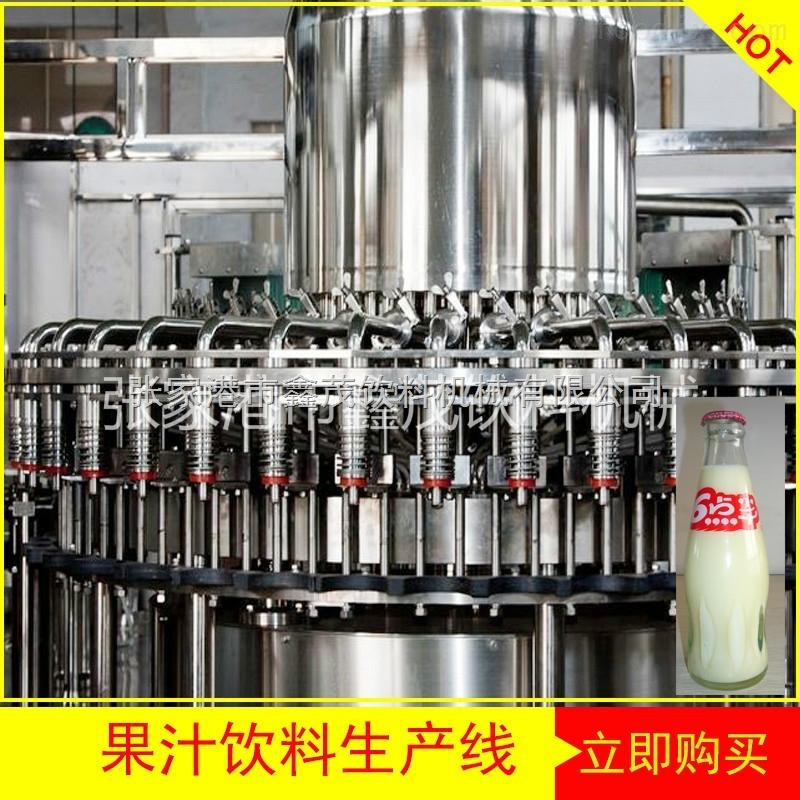 供应果汁饮料生产线/全自动易拉罐灌装封口生产线/ 植物蛋白玉米汁饮料