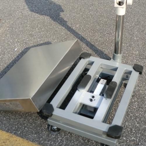 滚轮移动式电子台秤松江电子秤