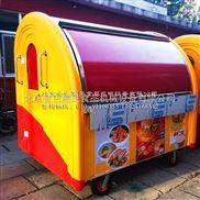 厂家出售电动快餐车多功能美食车