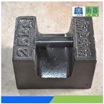 M1级铸铁砝码25kg多少钱1吨电梯调试砝码