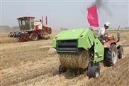 圆捆机捡拾式麦草打捆机小型圆捆机固定式玉米秸秆打捆机