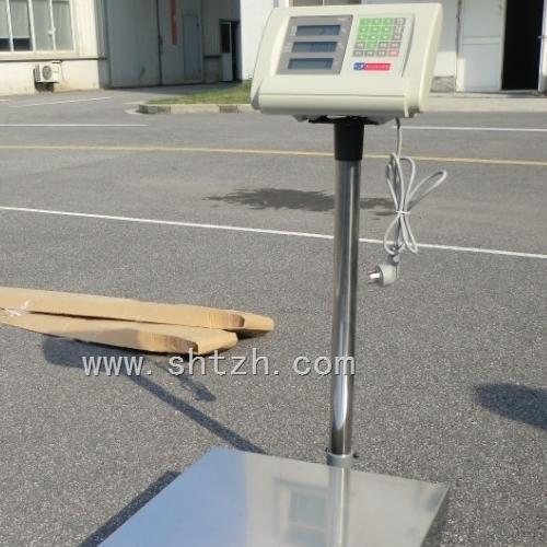上海移动式1吨电子台秤