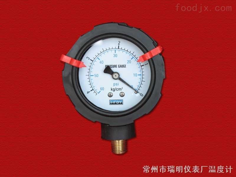 PP隔 膜 压力表
