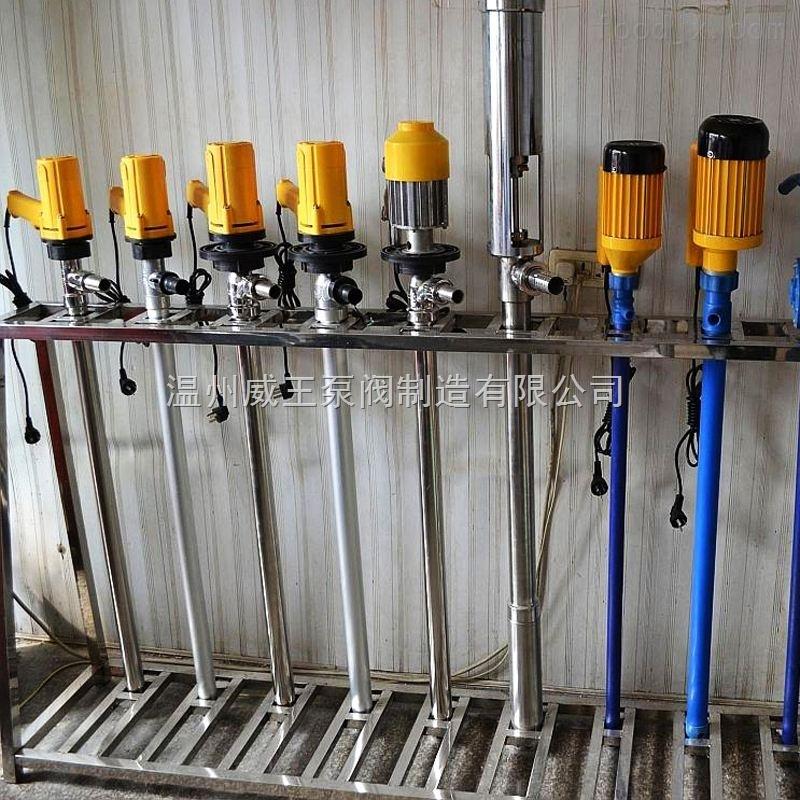 sb型电动油桶泵生产厂家提供泵阀之乡