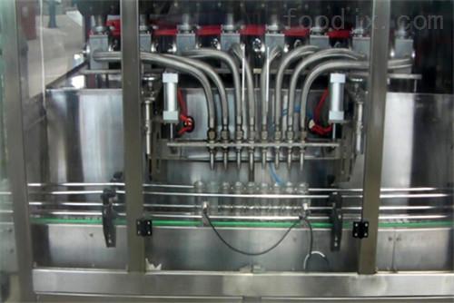 6头酱料直线灌装机