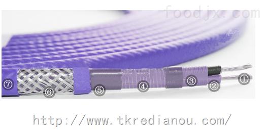 RDP2-J3-30金属编织铠装伴热电缆