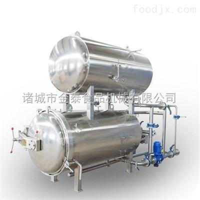 900-1800免锅炉蒸汽源水浴式调理蒸煮锅