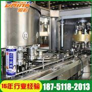核桃乳灌装生产设备 六个核桃饮料易拉罐饮料生产线