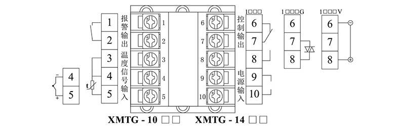xmt-1000 智能温度控制器