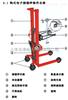 350kg手动倒桶秤食品车间钩式倒桶倾倒角度270度电子秤倒桶秤